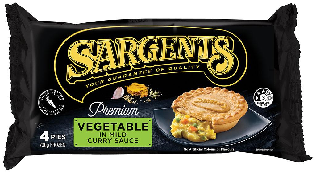Premium Vegetable Pies 4pk