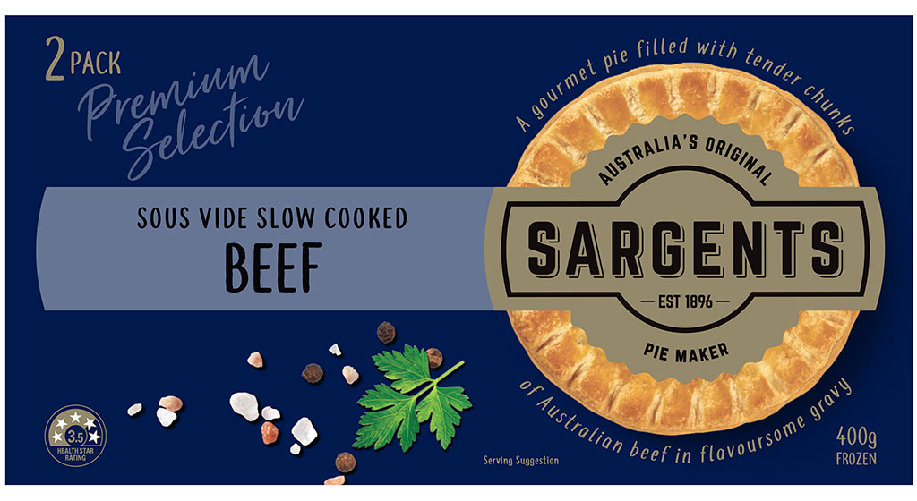 Premium Sous Vide Slow Cooked Beef Pies