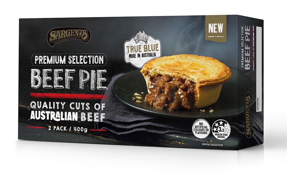 Premium Selection Beef Pies 2Pk